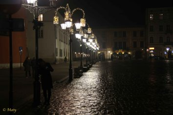Night time at Krakow