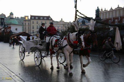 Nice ride around the Main Market in Krakow
