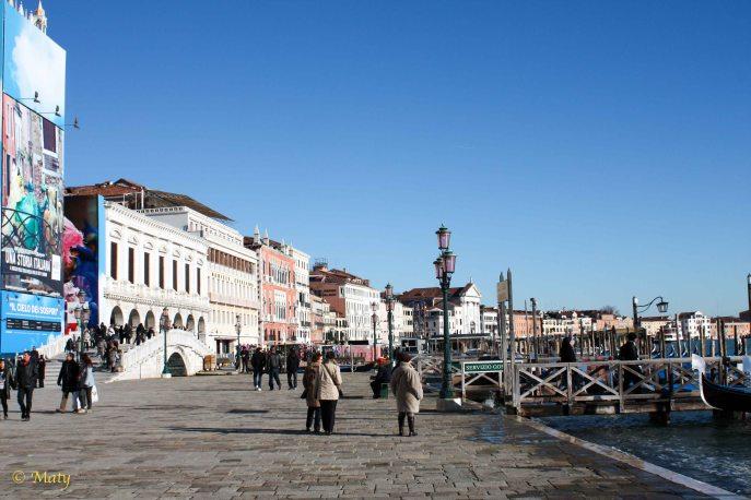 Look at Riva degli Schiavoni and Grand Canal