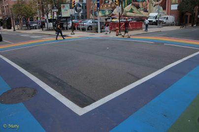 Pride pedestrian crossing!