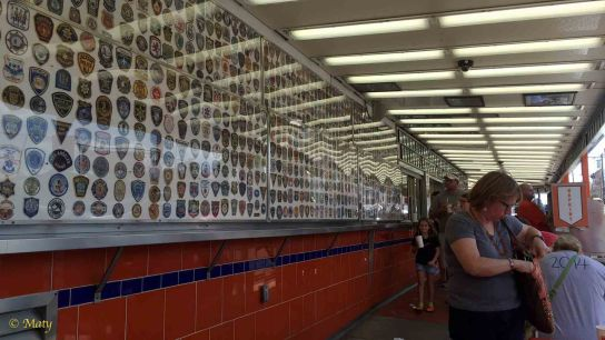Law Enforcement and Military patches at Geno's
