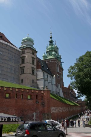 We going to the Wawel Castle
