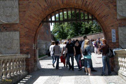Entrance to Wawel Castle