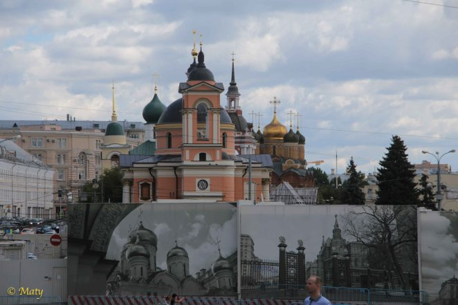 around Kremlin