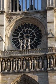 Tower of the Notre Dame Cathedral in Paris