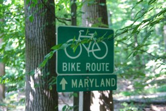 Bike route to Maryland!