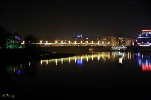 Night at Vistula (Wisla) River