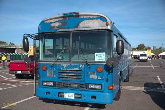 Blue Bird bus