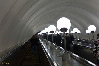 Metro is very deep undergroud