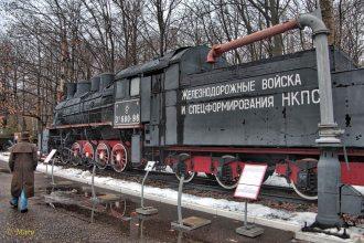 Steam locomotive cirica WWII