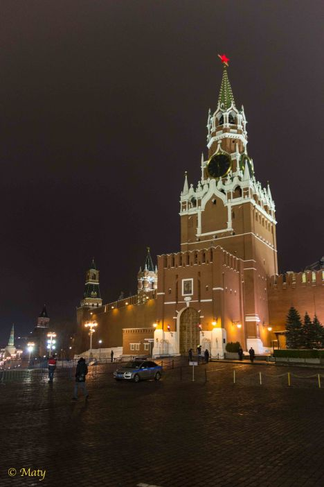 Kremlin's Savior's Tower