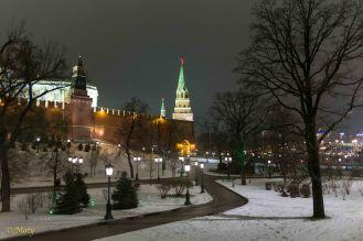 The Armory Tower and the Borovitskaya Tower