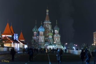 Saint Basil's Cathedral and Red Square