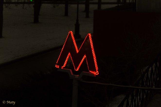 """Metro """"Lenin's Library""""!"""