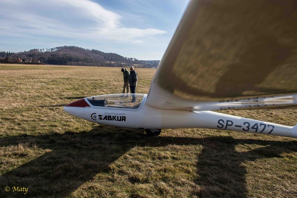 Polish glider SZD-51 Junior