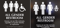 all gender bathroom sign | My Web Value