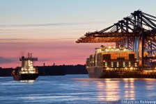 Hamburg-Burchardkai-Hafen