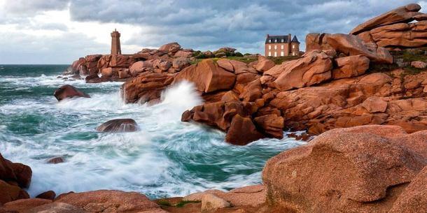 Leuchtturm Ploumanac'h Bretagne
