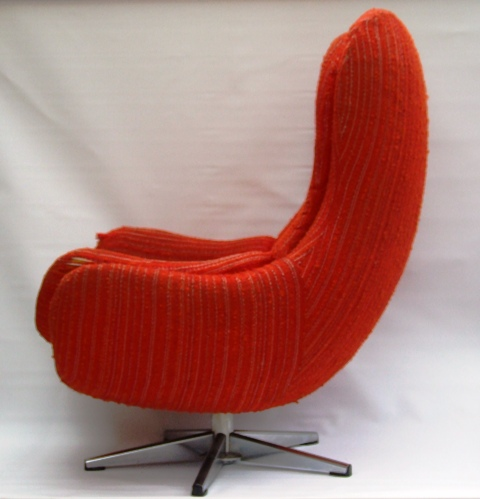 at home chairs indoor hammock swing chair pair of 1960s egg for salemaud