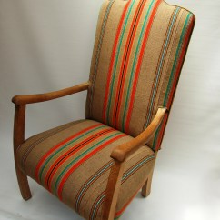 Burlap Chair Covers For Sale Outdoor Lounge Chairs Target 1930s Fireside Recovered In Vintage French