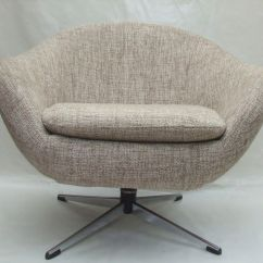 Tub Chair Covers For Sale Resin Wicker Rocking White Pair Of 1960s Chairs With Swivel Base Maud
