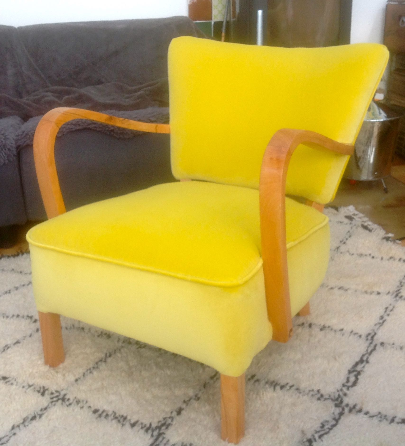 Yellow Egg Chair Maud Vintage Chairs Sold Archivemaud Chairs