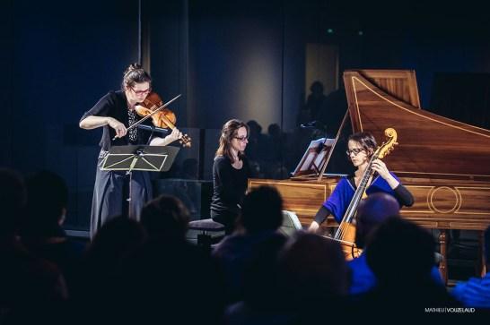 Il Convito - Maude Gratton, Sophie Gent, Claire Gratton - photo Mathieu Vouzelaud Photo Matthieu Vouzelaud