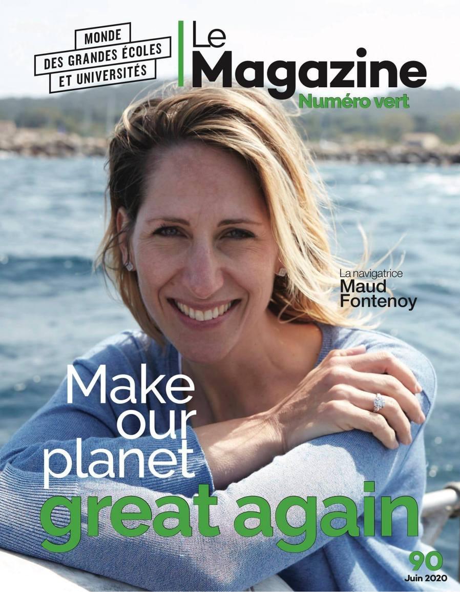 Maud Fontenoy - Magazine des grandes écoles et universités