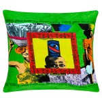 African print cushion cover