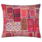 hand embroidered cushion Ramita