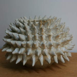 spiky-white-ceramic-vase