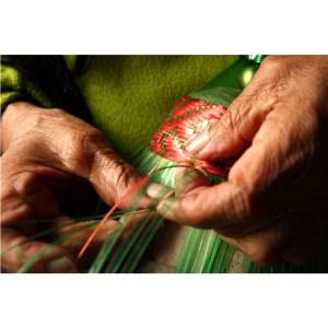 Weaving-the-plastic