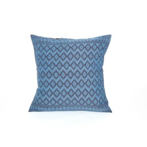San-Andres-Brocade-Turquoise-Chocolate-cushion-cover