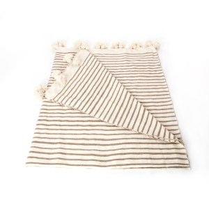 Moroccan Striped Blankets