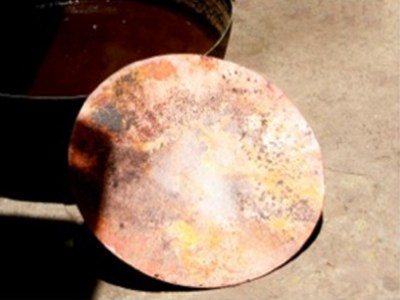 Making a copper meditation bowl