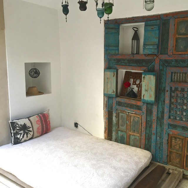 cosy corner Riad Due Marrakech Maud interiors