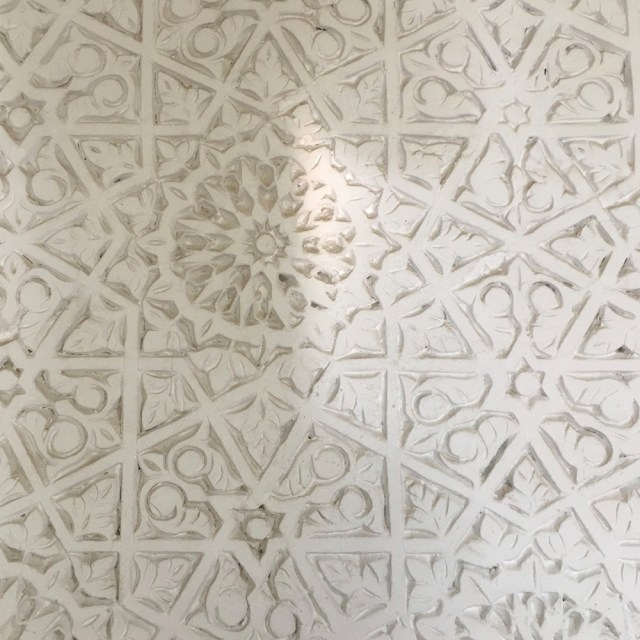 ceiling detail Riad Due Marrakech Maud interiors
