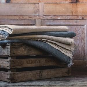 waffle blankets merino wool Maud interiors