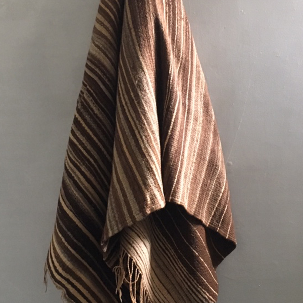 vintage hand woven moroccan blanket
