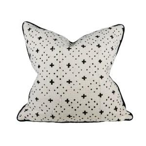 Bogolan cushion