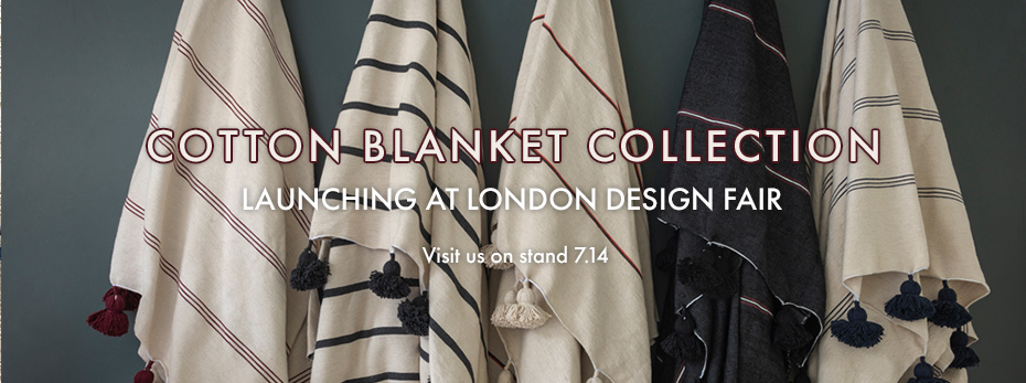 Cotton blanket collection