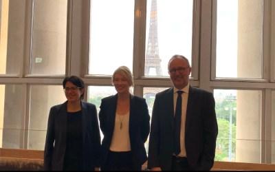 El Congreso francés de la Naturaleza recibe a Bérangère Abba, Consejera de Estado para la Biodiversidad, y a los tres candidatos a la presidencia de la UICN Mundial.