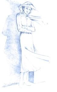 dame-bleue