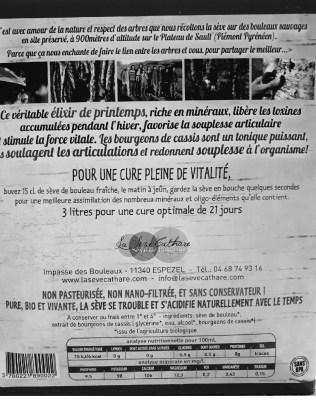 SEVE DE BOULEAU CASSIS