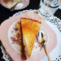 dame cakes tarte fraise rhubarbe