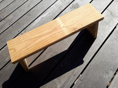 home made banc de meditation
