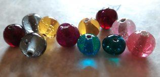 perles transparentes