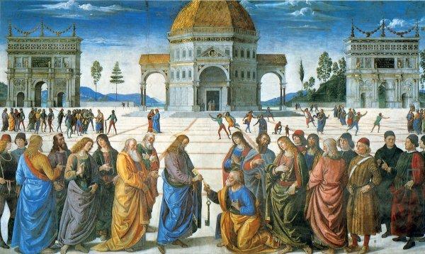 Christ Delivering the Keys to Saint Peter
