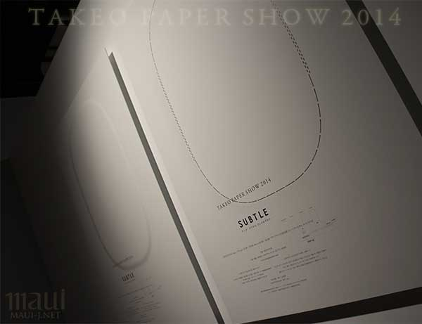 TAKEO PAPER SHOW 2014