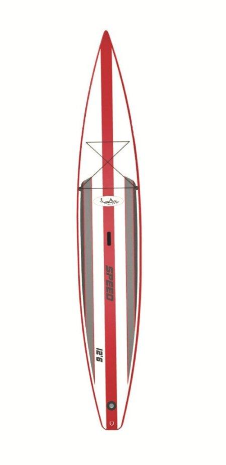 Inflatable SUP - Shark 12'6 Racing Board